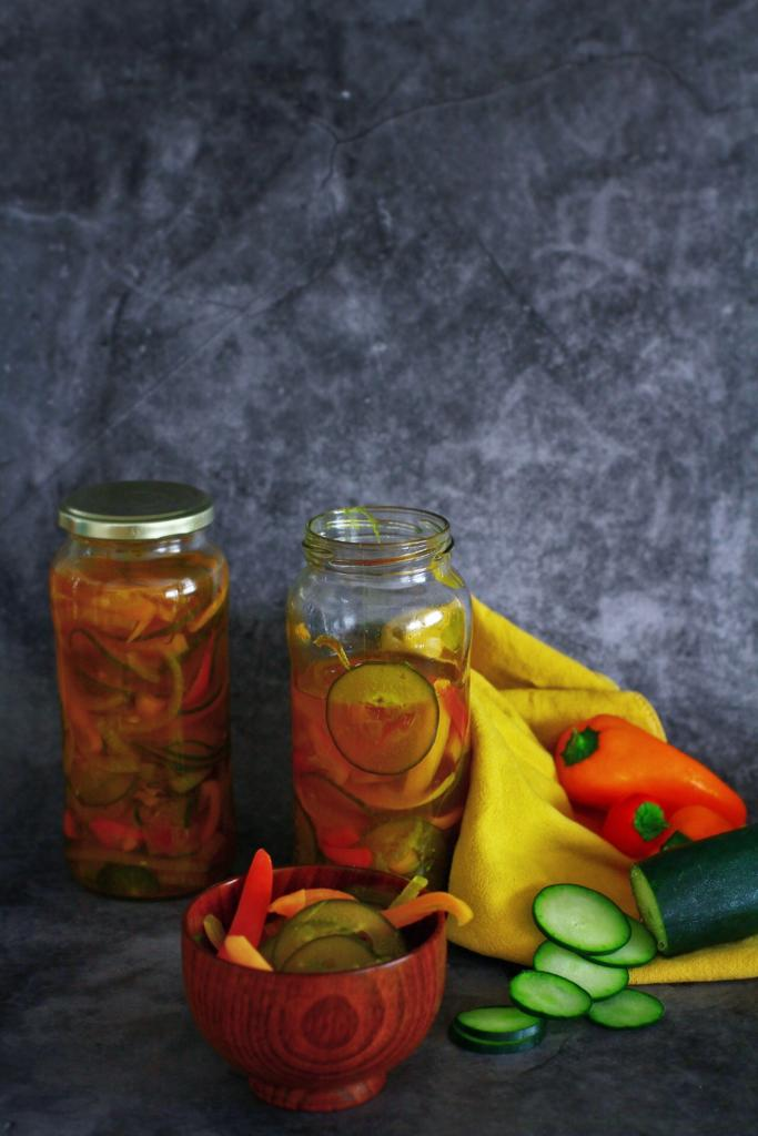Pickles agridoce