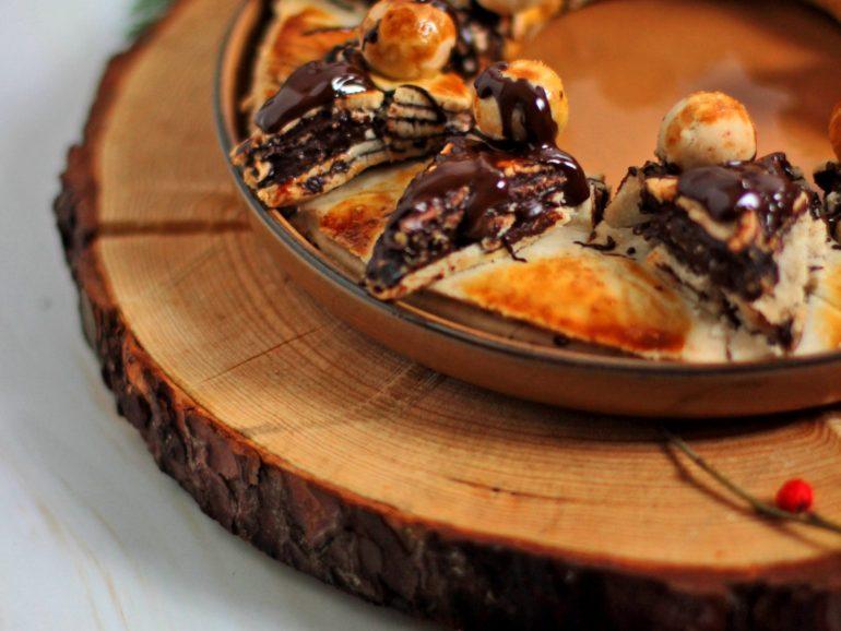 Coroa de chocolate