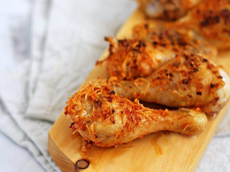 Pernas de frango na airfryer